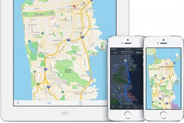 Apple Haritalar uygulamasını geliştirmeyi sürdürüyor