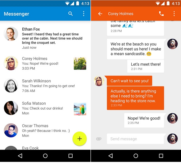 google-messenger-android