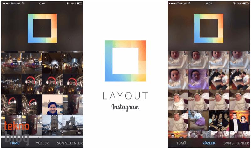 Layout: Instagram fotoğraflarınızı birleştiriyor