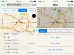 iOS 9 ile Apple Haritalar'a toplu taşıma bilgileri eklenebilir