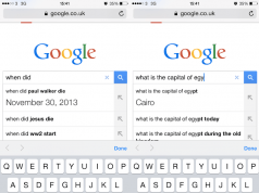 Google mobil cihazlarda sorular tamamlanmadan cevapları verecek