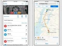 iOS 9 Apple Haritalar'a toplu taşıma bilgilerini getiriyor