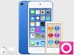 Apple iPod'ları Apple Store'ların raflarına alıyor