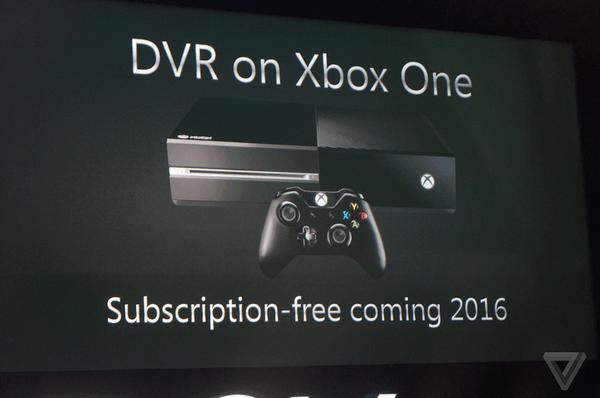 Xbox One TV kayit