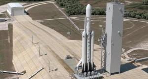 SpaceX Falcon Heavy roketini yakından gösteren bir video yayınladı
