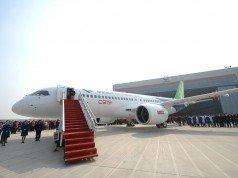Çin Boeing 737 ile kapışacak yeni yolcu uçağını tanıttı