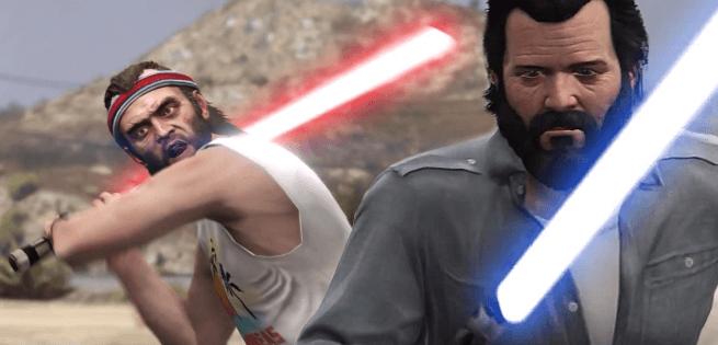 Grand Theft Auto 5 Işın Kılıcı