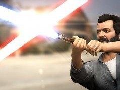 Grand Theft Auto 5 ışın kılıçlarıyla daha eğlenceli