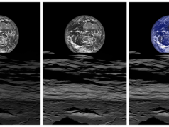 NASA Dünya'nın Ay üzerinden doğuşunu gösteren fotoğraflar yayınladı