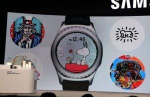 Samsung Gear S2 Snoopy arayüzlerine kavuşuyor