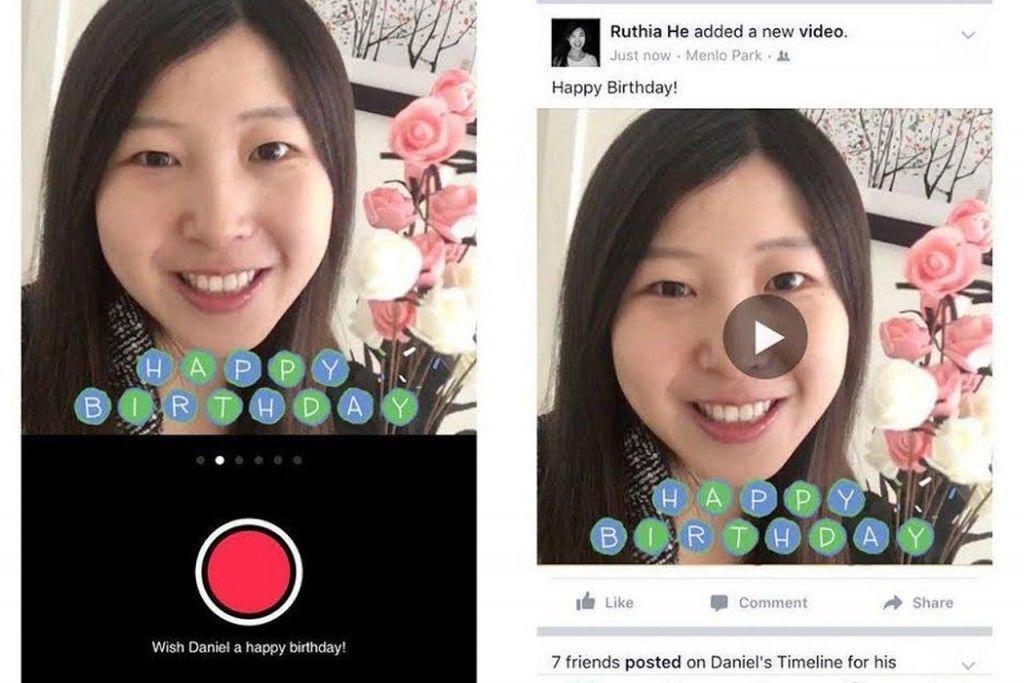 facebook kisa videolar doğum günü