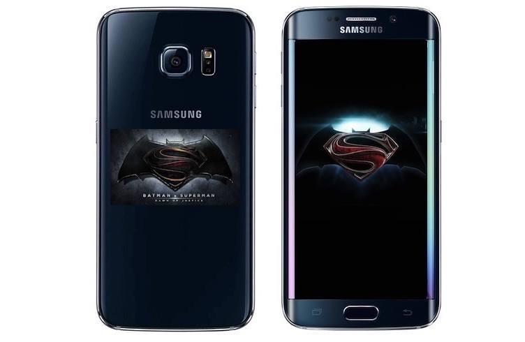 Galaxy S7 Edge Batman Superman