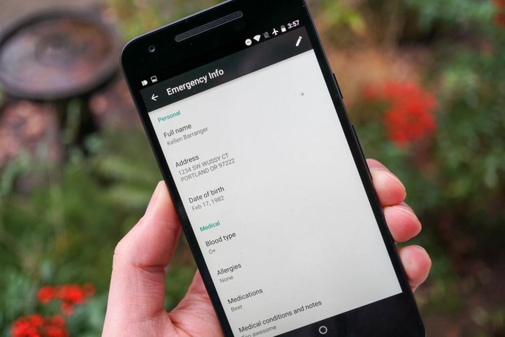 android n kilit ekrani acil durum