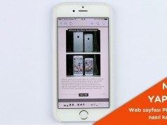 iPhone'da web sayfası PDF olarak nasıl kaydedilir? – Video