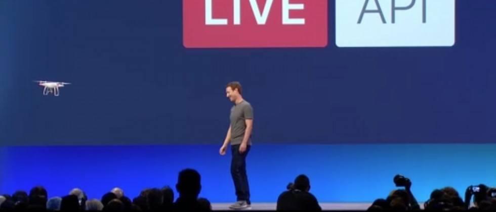 facebook live yayinlari drone