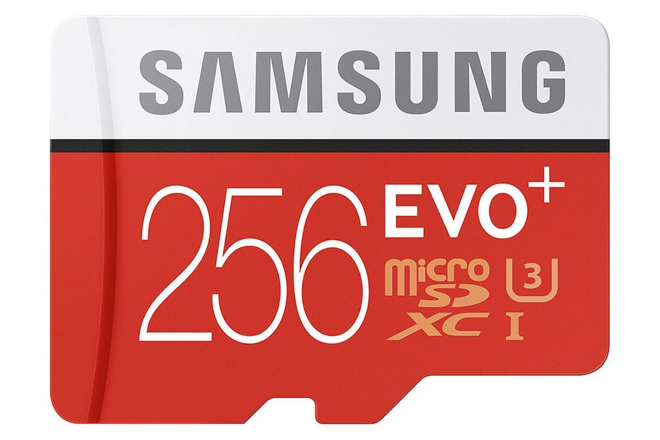 samsung 256 gb microSD