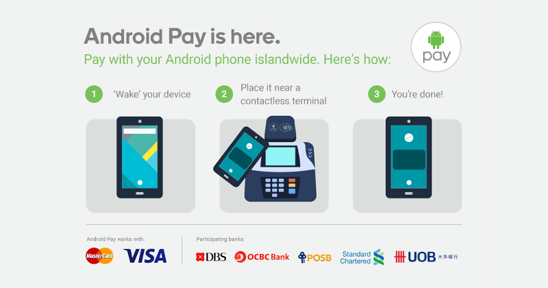 android pay singapur