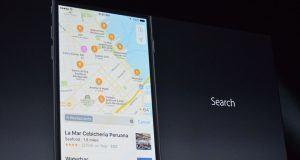 Apple Harita uygulaması iOS 10 ile yeni tasarıma kavuşuyor