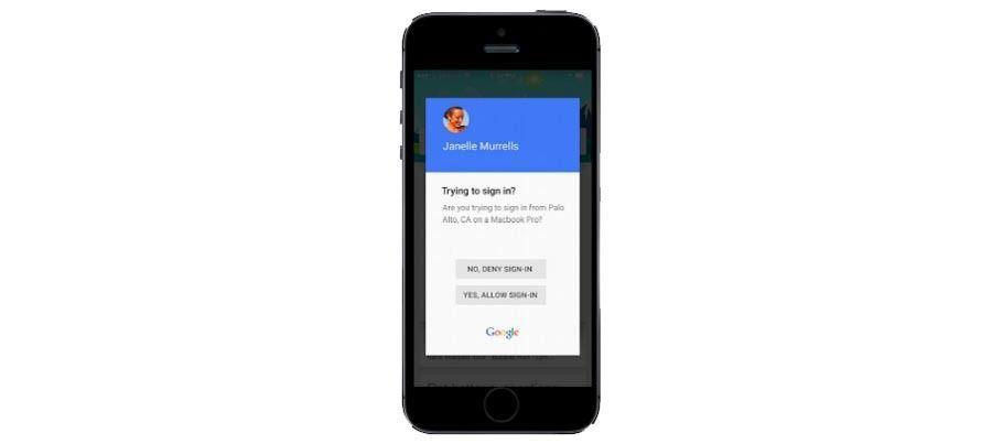 google cift asamali dogrulama