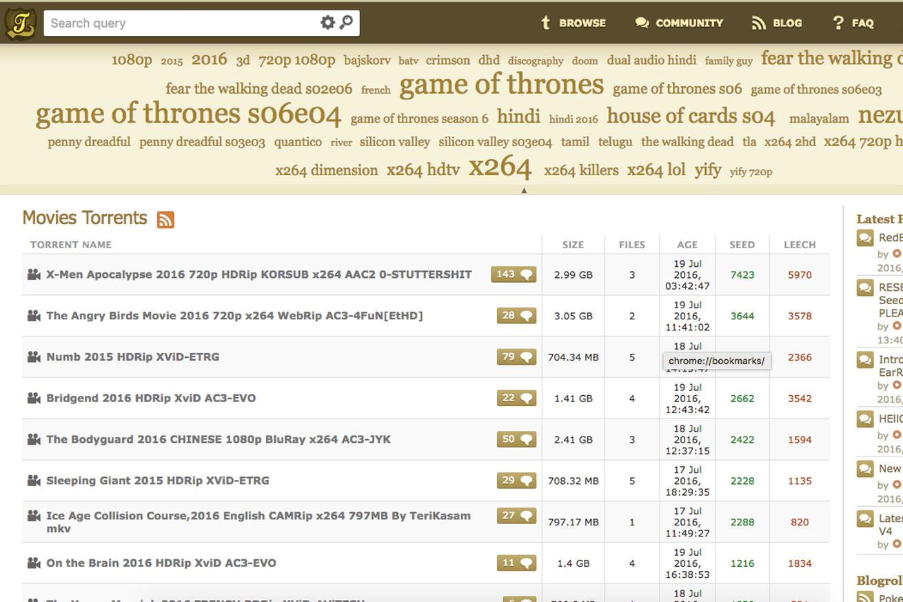KickassTorrents diğer korsan siteleri gibi yeniden yayında