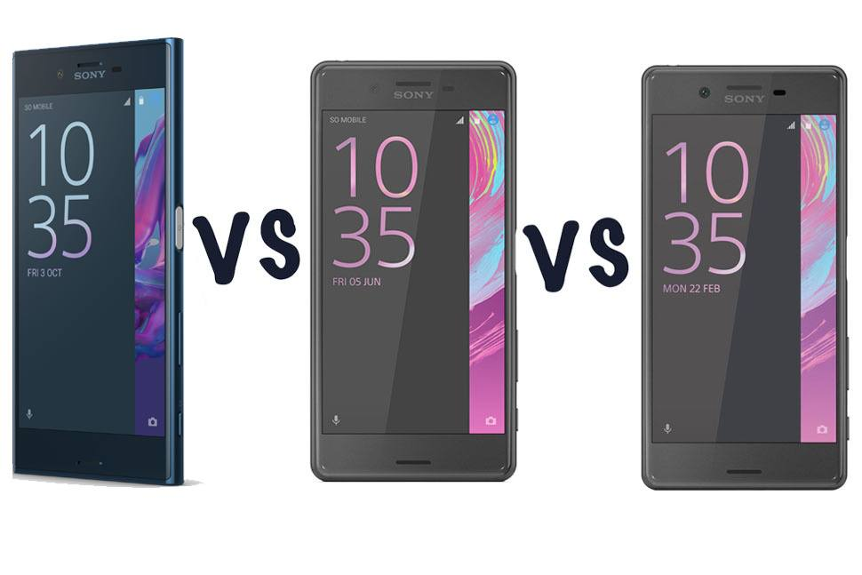 sony xperia xz vs sony xperia x performance vs sony xperia x