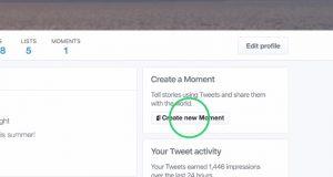 Twitter Moments herkesin kullanımına açılıyor, herkes An oluşturabilicek