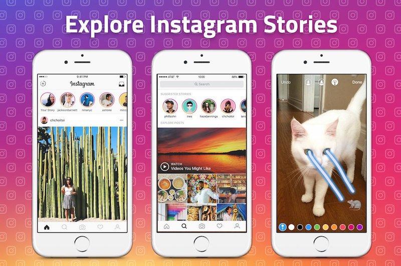 instagram hikayeleri kesfet