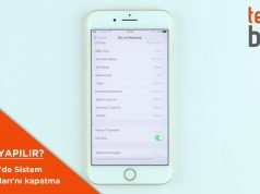 iphone 7 sistem dokunuşları