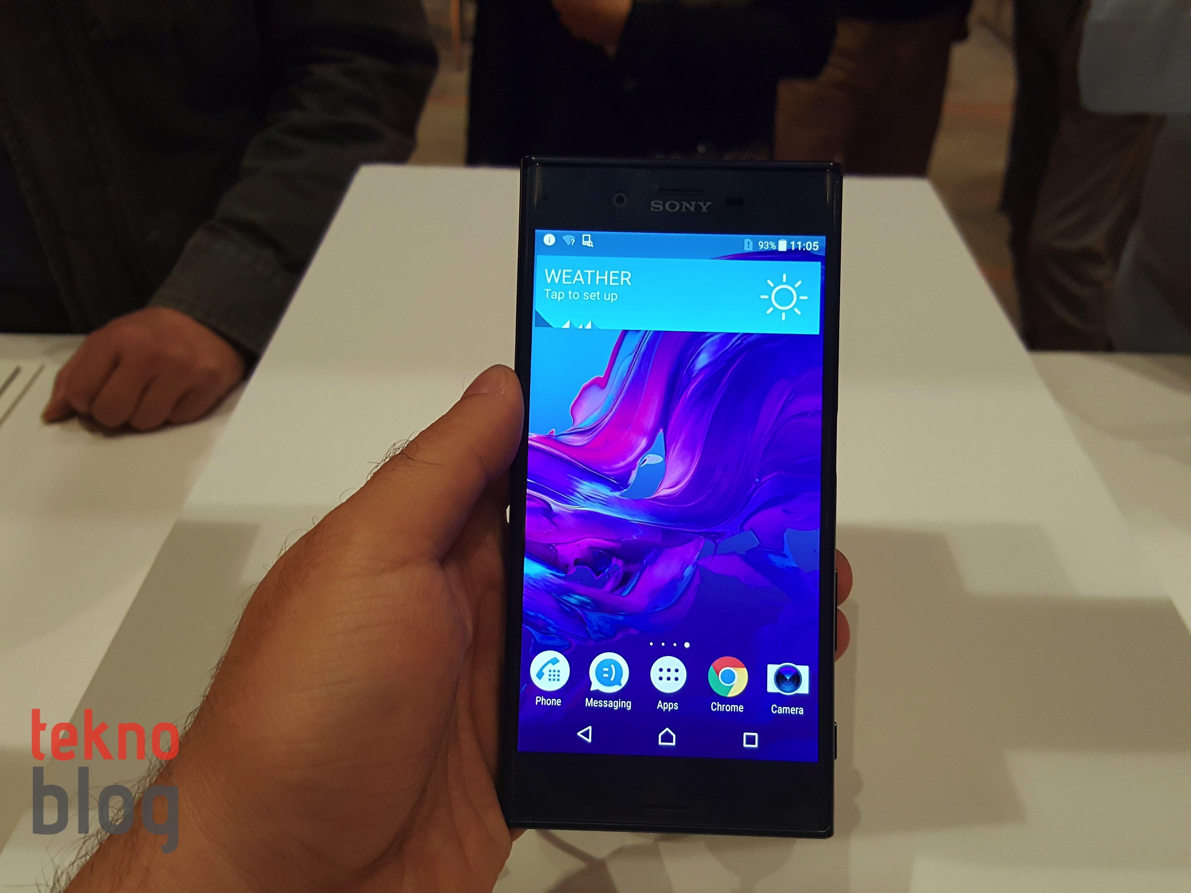 sony xperia xz android nougat