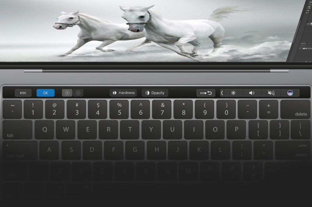 photoshop touch bar