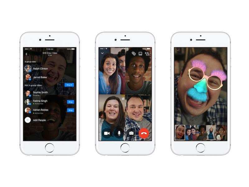 Facebook Messenger grup video görüşme özelliğini sunmaya başladı