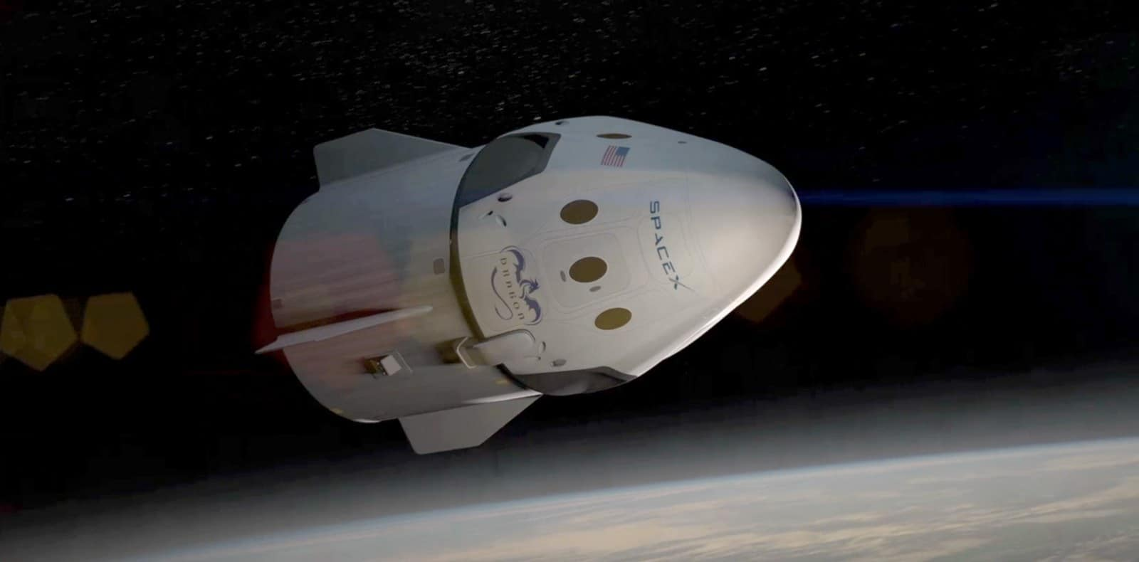 spacex uzay