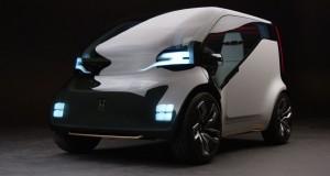 Honda özel ulaşım servisleri için hazırladığı elektrikli konsept aracını tanıttı