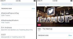 Twitter Anlar sekmesini Keşfet sekmesiyle değiştiriyor