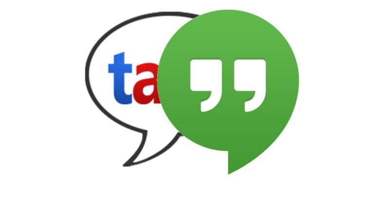 google talk hangouts
