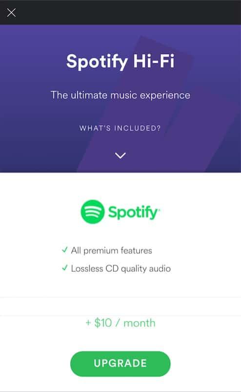 spotify hi-fi