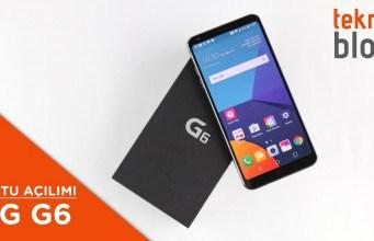 Video: LG G6 Kutusundan Çıkıyor