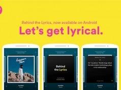 Spotify Behind the Lyrics özelliğini Android'e de getirdi