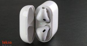 Apple AirPods 2 daha uzun pil ömrü, suya dayanıklılık ve gürültü önleme özelliğiyle gelecek