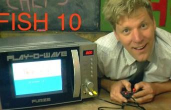 YouTube yıldızı Colin Furze mikrodalga fırını oyun konsoluna dönüştürdü