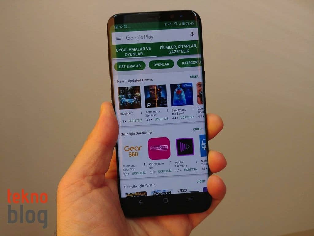 google play android uygulamaları
