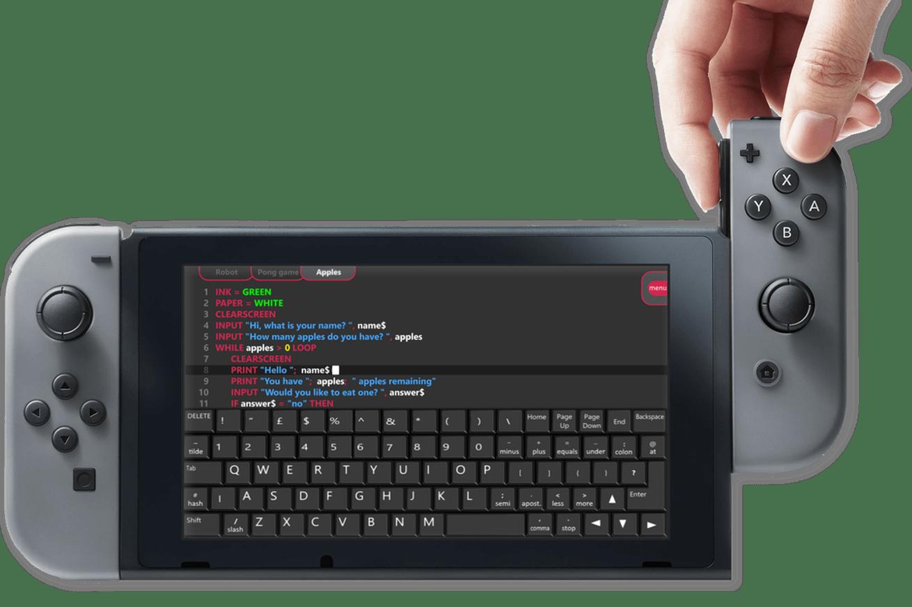 nintendo switch fuze code studio