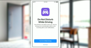iOS 11 bildirim engelleme özelliğiyle sürüş güvenliğini artırmayı amaçlıyor