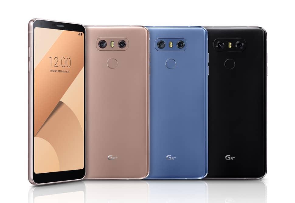LG G6'nın güçlendirilmiş versiyonu LG G6+ duyuruldu