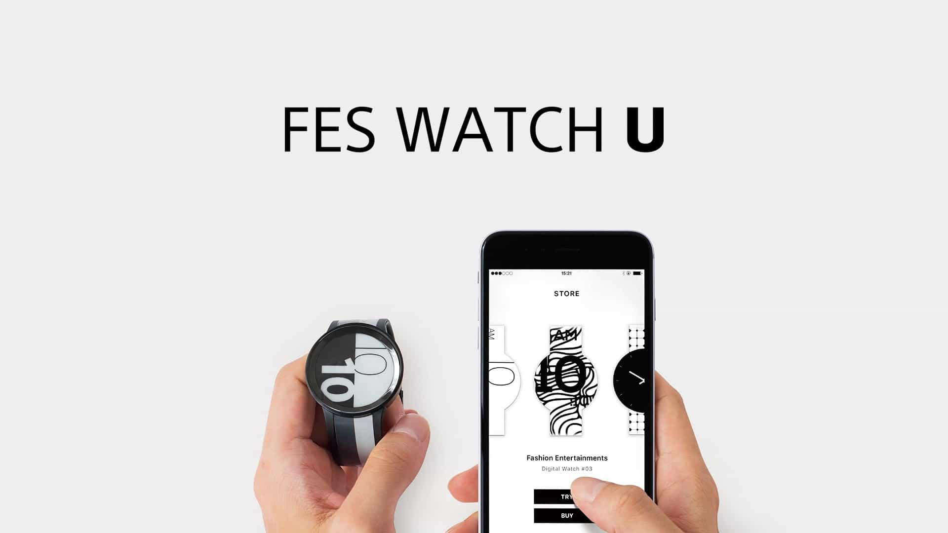 Sony FES Watch U, E Ink ekranlı kol saati çıktı