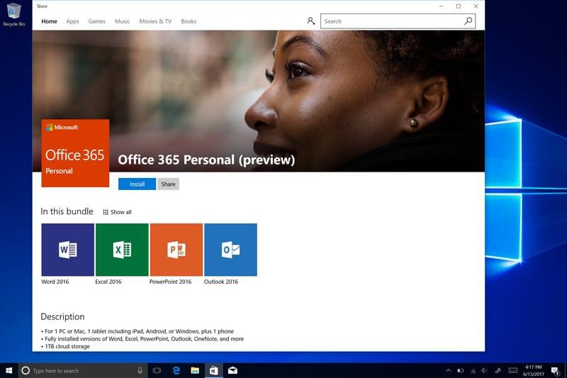 Microsoft Office Windows Mağaza'daki yerini aldı