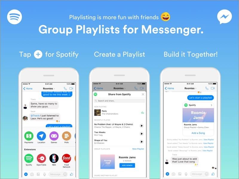 Müzik uygulaması Spotify, Facebook ile ortak oldu!