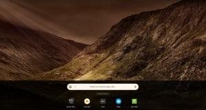 Chrome OS için dokunmatik ekran dostu bir tasarım test ediliyor