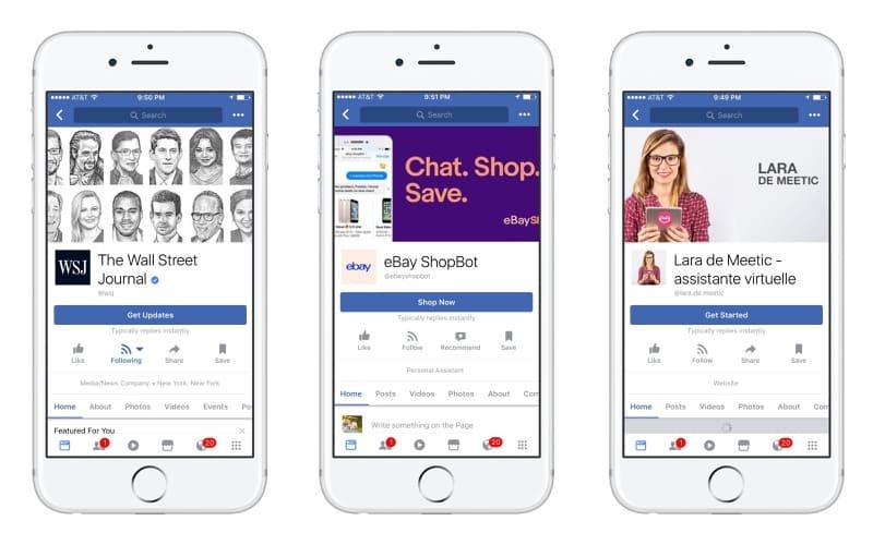 facebook messenger guncellemesi