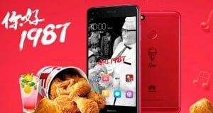 KFC Huawei Enjoy 7 Plus ile Çin'deki 30. yaşını kutluyor